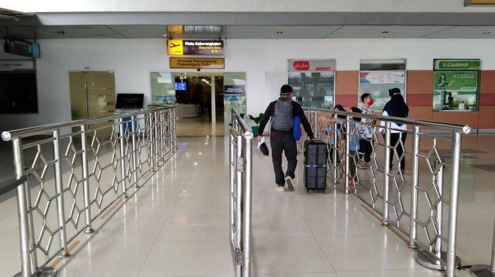 Hari Pertama Larangan Mudik, Jumlah Penumpang di Bandara Sultan Hasanuddin hanya 769 Orang