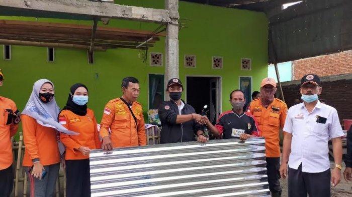 Akibat Angin Puting Beliung, Tiga Rumah Rusak di Takalar