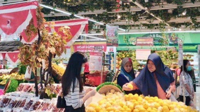 Paket Sembako Mulai Rp 100 Ribu, Minyak Goreng 2 Liter Rp 23.900 di Lotte Mart Panakkukang