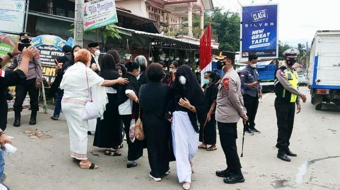 PPKM, Pesta Rambu Solo Tokoh Pendidikan di Toraja Dijaga Ratusan Petugas Gabungan