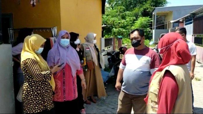 Suasana Dusun Pangkajene, Desa Pakkabba, Kecamatan Galesong Utara, Takalar, Sualwesi Selatan, Sabtu (2/10/2021).