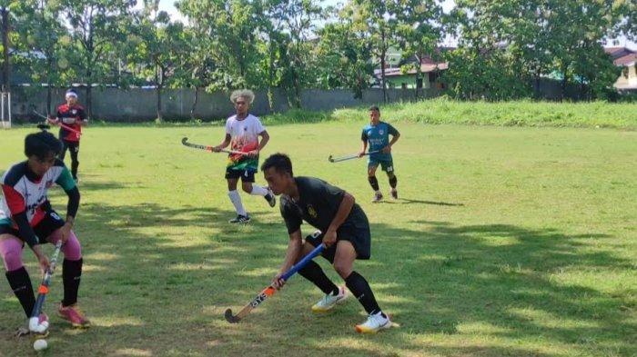 Fisik Atlet Hoki Putra Sulsel Sudah Maksimal, Sisa Benahi Perpindahan Bola