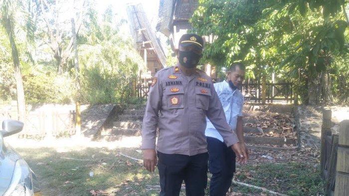 Kronologi Penemuan Orok Bayi di Depan Rumah Adat Toraja Benteng Somba Opu Gowa