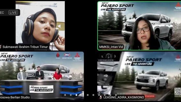 Bosowa Berlian Kenalkan New Pajero Sport di Pameran Mall Ratu Indah