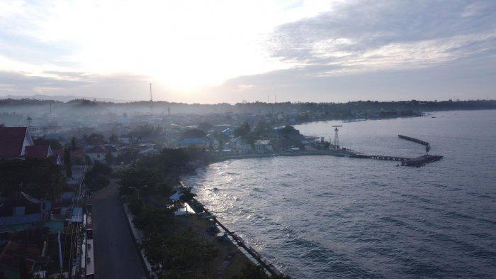 FOTO:  Kabut Pagi di Kabupaten Majene