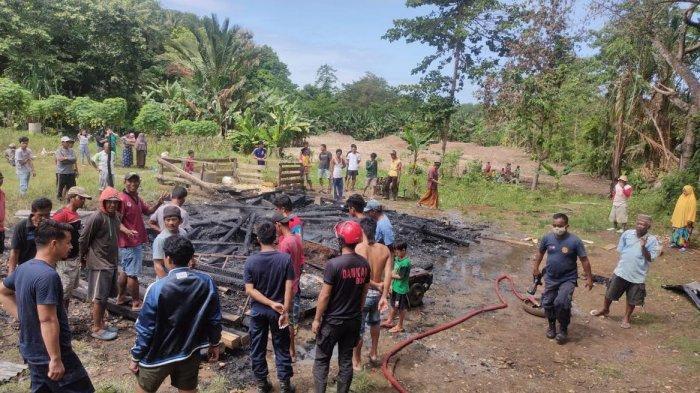 Istrinya Makan Siang Sambil Goreng Ikan, Rumah Jufri & Uang Rp20 Juta di Polewali Bone Terbakar