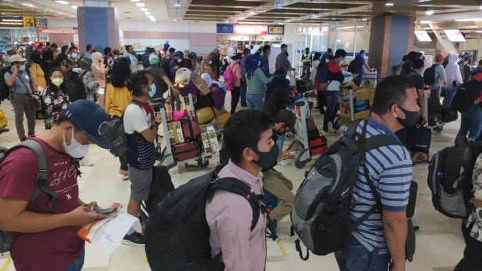 Arus Balik Mudik, jumlah Penumpang Bandara Sultan Hasanuddin Meningkat 1812%