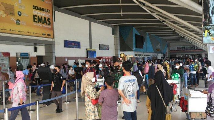 Tiga Hari Terakhir, Total Penumpang Bandara Sultan Hasanuddin Capai 78.438
