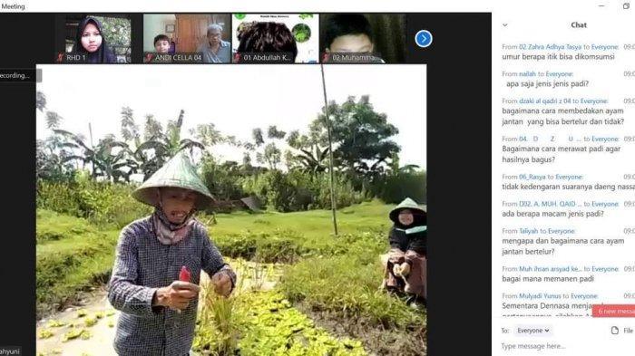 Perkenalkan Keanekaragaman Hayati, Rumah Hijau Dennasa Gelar Virtual Trip