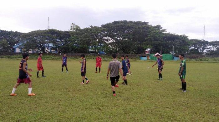 Jajal Bua Junior FC, Tim Sepakbola Pra Porprov Palopo Lakoni Uji Coba Perdana Sore Ini