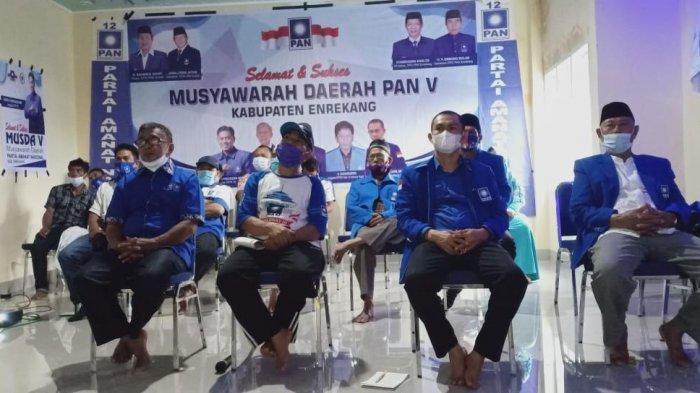 Abdurrachman Zulkarnain Terpilih Pimpin PAN Enrekang