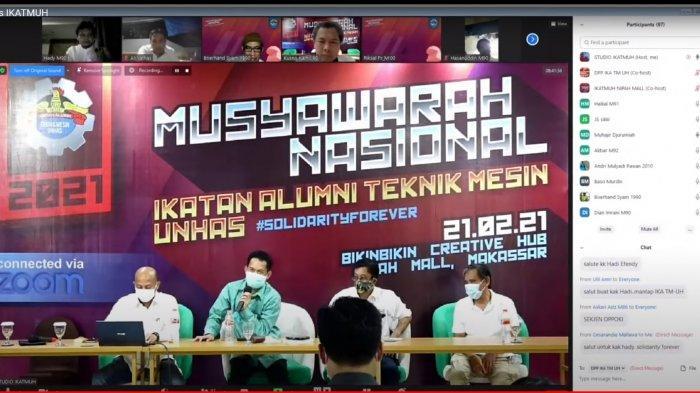 Ikatan Alumni Teknik Mesin Unhas Pilih Ketua Periode 2021-2026, Jusman Sikki Gantikan HM Pulu Niode