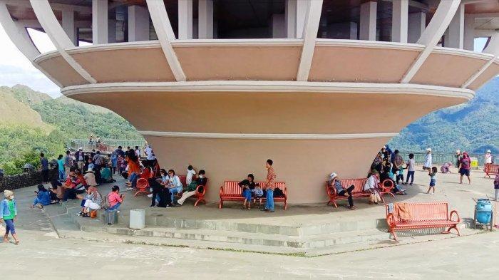 Hari Libur Waisak, Obyek Wisata Burake Tana Toraja Ramai Pengunjung