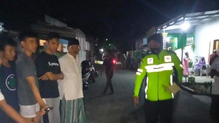 Suasana TKP Arung tewas terlindas truk