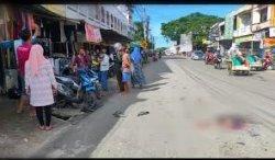 Tabrakan di Jalan Sukawati Bone, Dua Pengendara Dilarikan ke Rumah Sakit