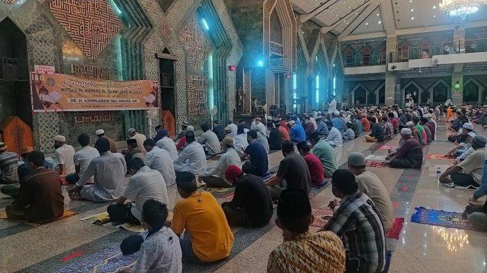 Digelar Terbatas, Peringatan Nuzulul Quran di Masjid Al Markaz Makassar Tidak Undang Orang Luar