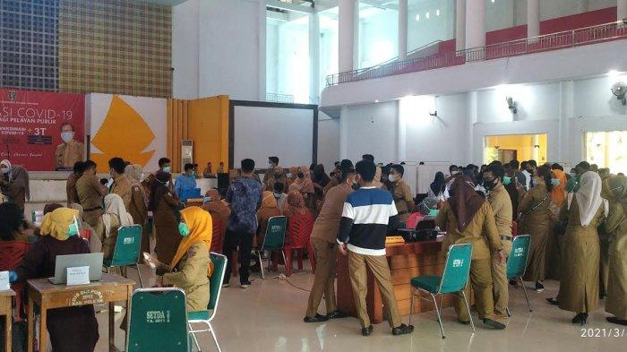 Peserta Vaksin Tahap Dua 1.100 Orang, Dinkes Polman Target Selesai Sebelum Ramadhan