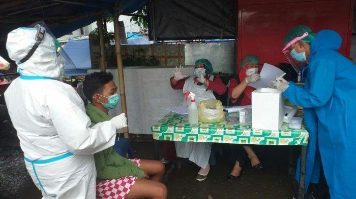20 Pelanggar Prokes di Pasar Minasa Maupa Gowa di PCR, 11 Orang Didenda 100 Ribu