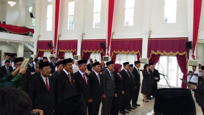 Sekprov Sulsel Lantik 12 Pejabat Eselon II, Dua Diantaranya Orang Toraja