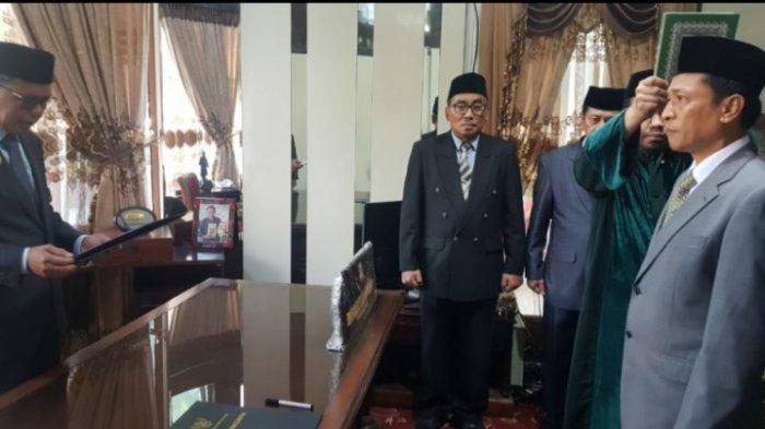 Ada Apa? Kok Nurdin Abdullah Lantik 'Sembunyi-sembunyi' Rudi Djamaluddin di Rujab