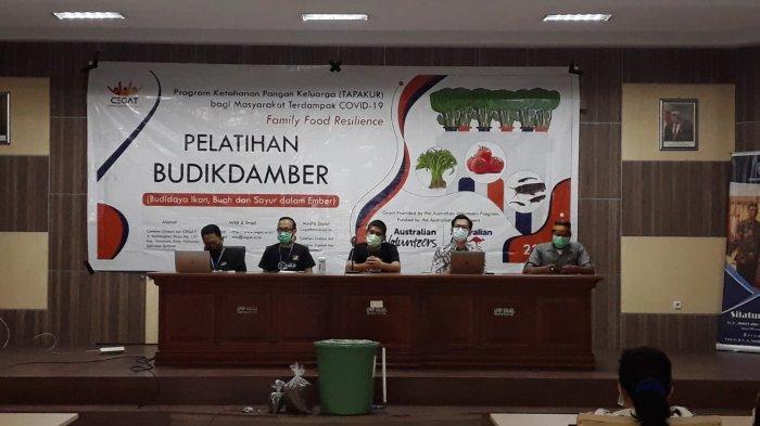 Cegat Community Gelar Pelatihan Budikdamber Tapakur