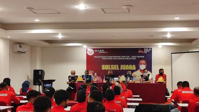 73 Atlet dari 5 Cabor Sulsel Dilepas ke PON XX Papua