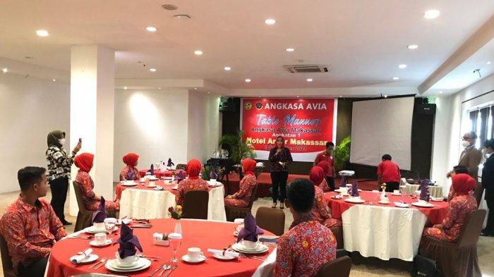 Begini Cara Sekolah Penerbangan Angkasa Avia Makassar Latih Kedisiplinan Siswa