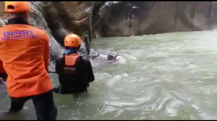 Korban Tenggelam di Air Terjun Bantimurung Luwu Utara Ditemukan Meninggal
