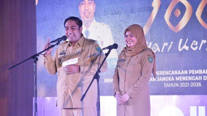 100 Hari Pimpin Maros, Apa Saja Telah Dilakukan Pasangan Chaidir Syam dan Suhartina Bohari?