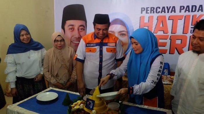 Jelang Pilkada Maros, Chaidir Syam-Suhartina Bohari Resmikan 3 Posko Pemenangan