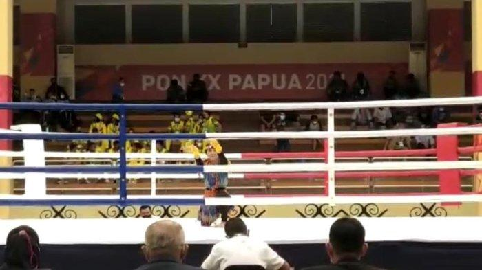 Tim Muaythai Sulsel Loloskan Atlet ke Final PON XX Papua