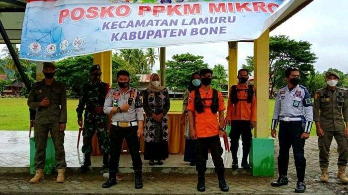 Posko Penyekatan Perbatasan Bone Kini Hanya Dijaga TNI dan Polri