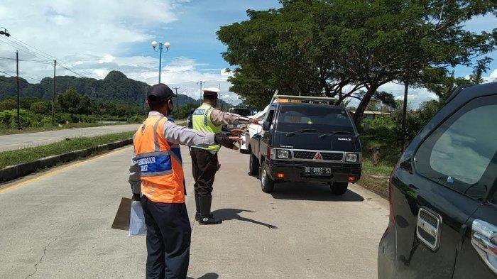 Pos Penyekatan Perbatasan Kabupaten Maros Diperpanjang hingga 24 Mei