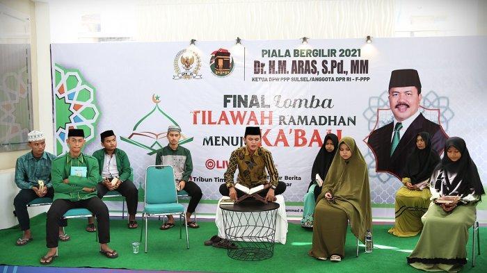 FOTO: Final Lomba Tilawah Ramadan Menuju Kakbah PPP Sulsel