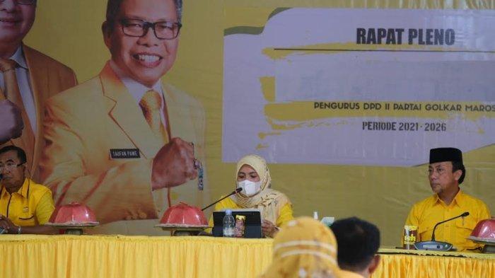 Suaminya Gabung Partai Lain, Suhartina Bohari Pecat Legislator Golkar Maros Wahyuni Malik