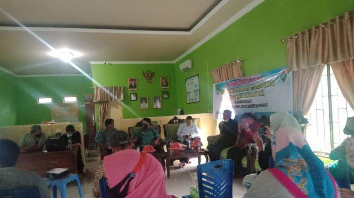 Suasana rapat penyusunan RKP Desa Mattirotasi dihadiri Anggota DPRD Kabupaten Maros