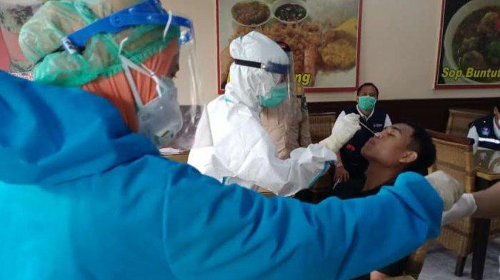 Hari Pertama Operasi Yustisi di Gowa, 4 Pelanggar Protkes Jalani Rapid Antigen, 1 Orang Positif