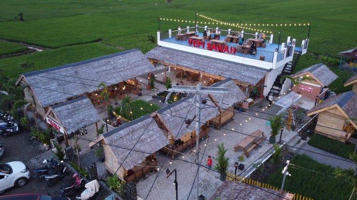 Foto Drone; Rumah Makan Tepi Sawah Sidrap - suasana-rm-tepi-sawah-sidrap-terekam-menggunakan-kamera-drone-tribun-timur-4.jpg