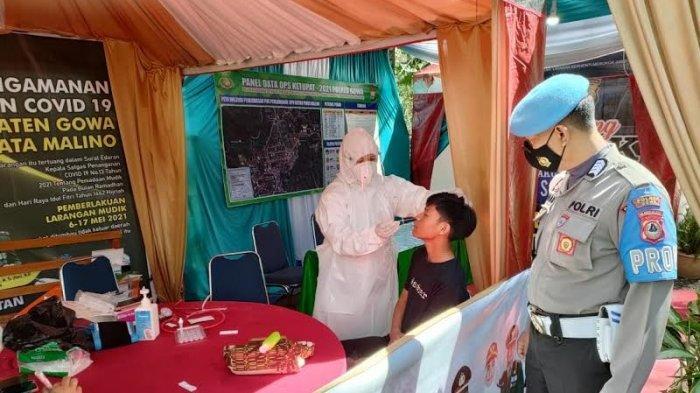 Langgar Protokol Kesehatan, 16 Pengunjung Malino Gowa Diswab Antigen