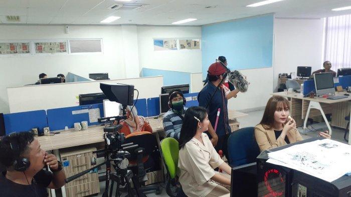 Syuting di Tribun Timur, Nantikan YouTube Series Terbaru Adhy Bassitoayya