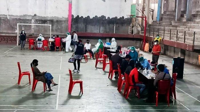 Persiapan Pra Porprov, Atlet Toraja Utara Divaksin Covid-19