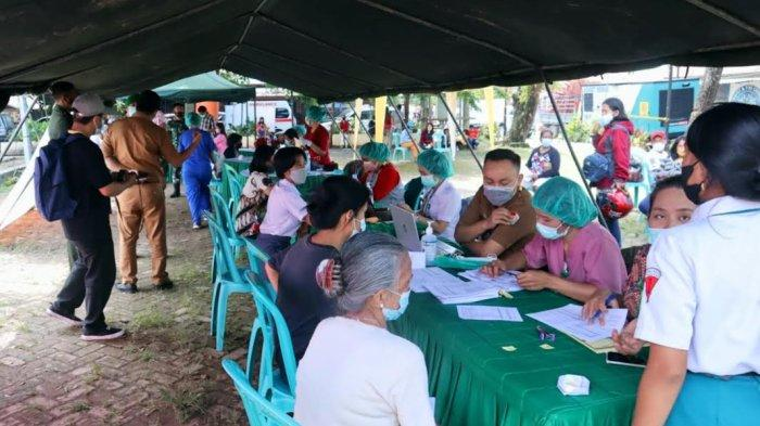 Dibuka untuk Umum, Vaksinasi Covid-19 di Lapangan Bakti Toraja Utara Cukup Bawa KTP