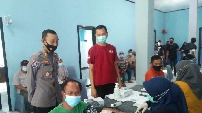 159 Warga Ikut Vaksinasi Covid-19 di Puskesmas Kota Bantaeng