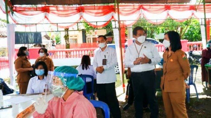 Nakes di Toraja Utara Divaksin Moderna, Penyuluh Agama Baru Dosis Pertama
