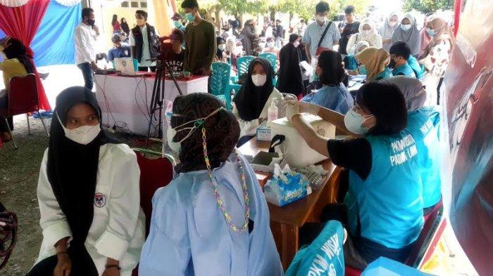Ribuan Mahasiswa Ikut Vaksinasi Merdeka di Kampus Unanda dan Universitas Muhammadiyah Palopo