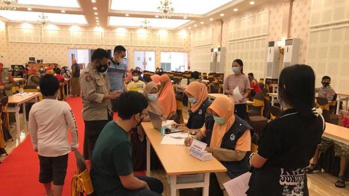 287 Warga Ikuti Vaksin di Grand Mall Maros