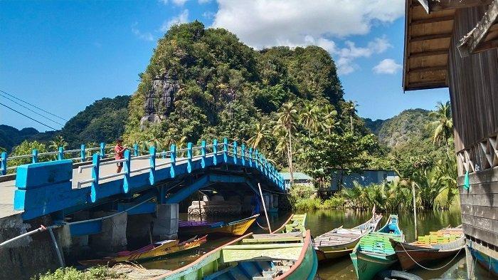 Obyek Wisata Rammang Rammang Mulai Ramai Dikunjungi Wisatawan