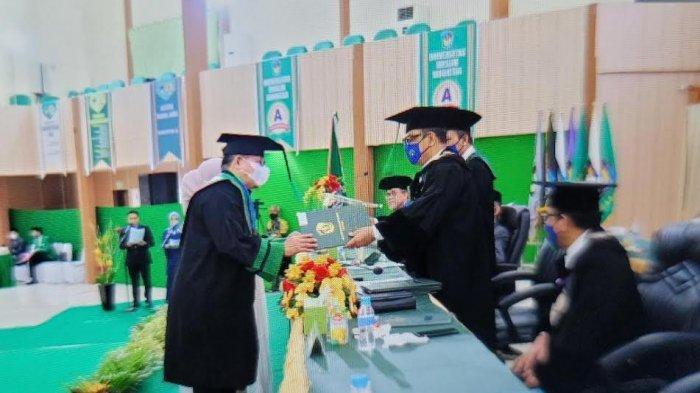 IPK 3,94, Kepala BPTD Wilayah XVIII Sultra Dinobatkan Sebagai Doktor Ilmu Hukum Terbaik UMI