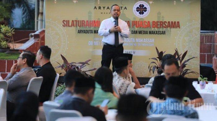 FOTO: Suasana Buka Puasa Bersama Aryaduta Makassar, PHRI dan Media - suasana6.jpg