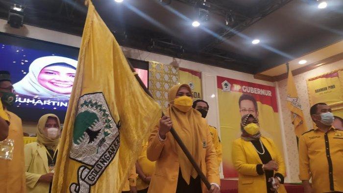 Terpilih Secara Aklamasi, Suhartina Bohari Resmi Pimpin Partai Golkar Maros